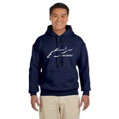 Adult Pennant Super 10 Hooded Sweatshirt