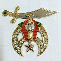 Shriner Crested Car Emblem