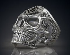 Masonic Skull Ring Preorder