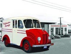 Northwestern Daries Delivery truck - tee shirt