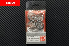 """1/24 2016 MX-5 Club Edition 17"""" Wheels and Tires Set"""