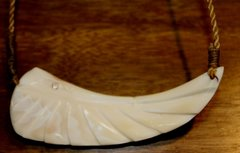 Ivory Pelican Necklace 1