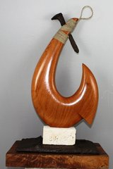 """Flagler"" Circle Hook Sculpture"