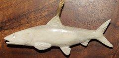 Bonefish Moose Antler Pendant