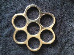 """Princess Paige Fox"" HoneyComb Suspension Aluminum Ring"