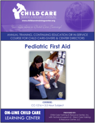 CEU Course 1216 - Pediatric First Aid