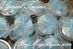 Soy Wax Candle Favors byMajestique (Sets of 12)