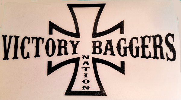 Victory Baggers Nation Vinyl Decal Victory Things