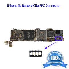 iPhone 5c Battery Clip FPC Connector