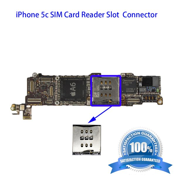 iphone 5c sim card slot iphone 5c sim card reader slot connector i11 tech inc 17438