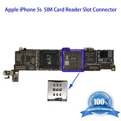 iPhone 5s Sim Card Reader Slot Connector