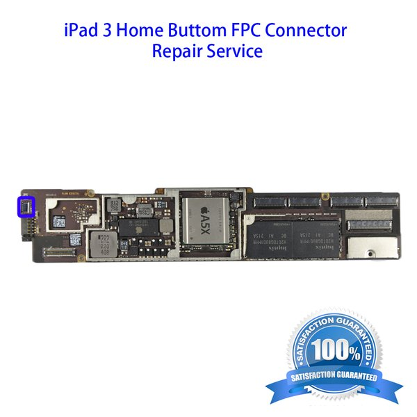 iPad 3 Home Buttom FPC Connector Repair Service