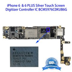 iPhone 6/6 PLUS Silver Touch Screen Digitizer Controller IC BCM5976C0KUB6G