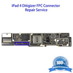 iPad 4 Digitizer FPC Connector Repair Service