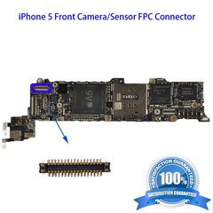 2X iPhone 5 Front Camera/Sensor FPC Connector