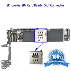 iPhone 6s sim card reader slot Connector