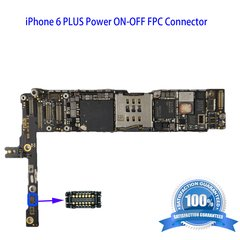 iPhone 6 PLUS Power ON-OFF FPC Connector