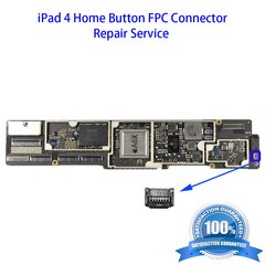 iPad 4 Home Button FPC Connector Repair Service