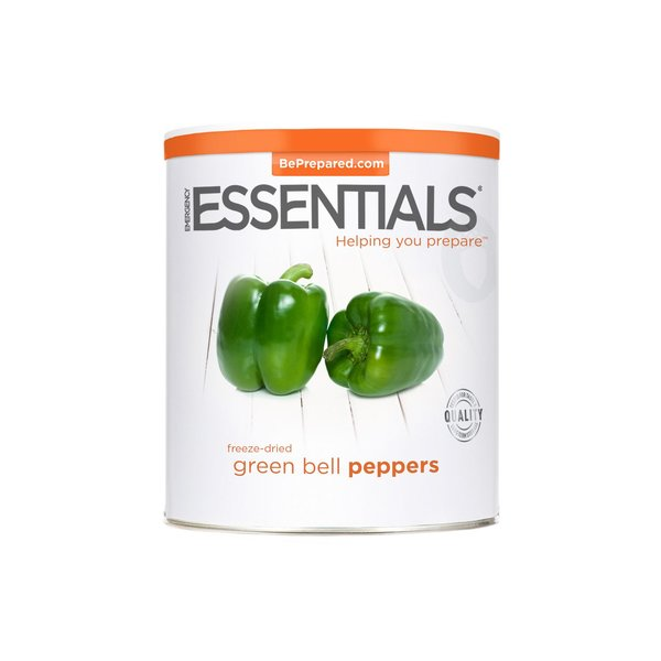 Freeze Dried Green Bell Peppers