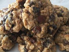 Citrus Calypso Chocolate Chip Granola Cookie Bites