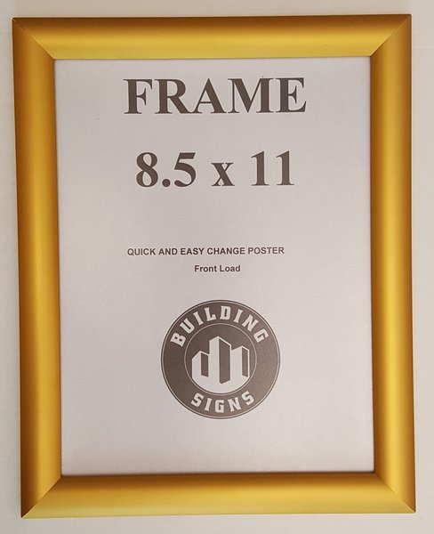 Snap Frame 8.5x11 Inches Front Loading Quick Poster Change, Wall ...