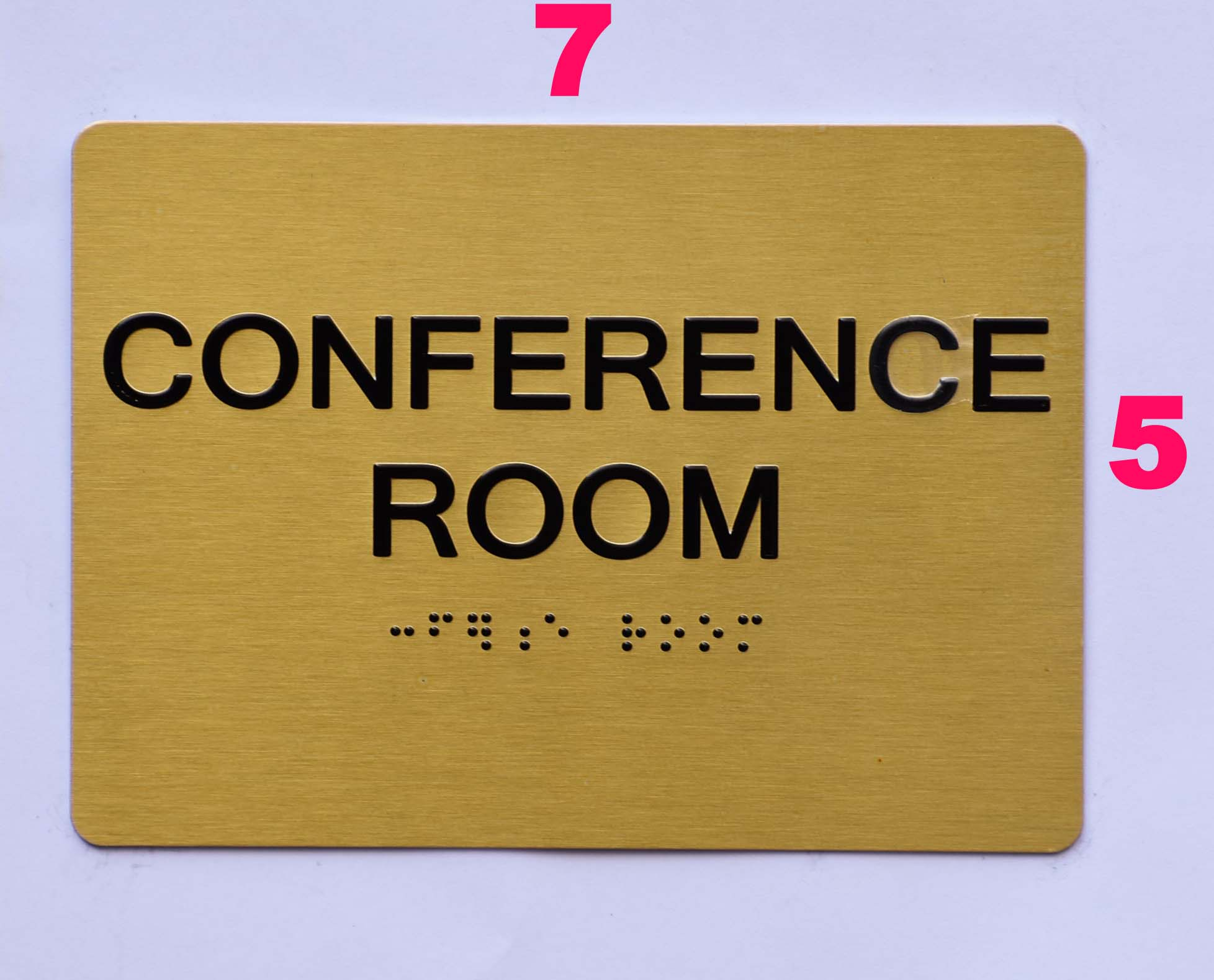 conference room sign ada sign the sensation line hpd signs the