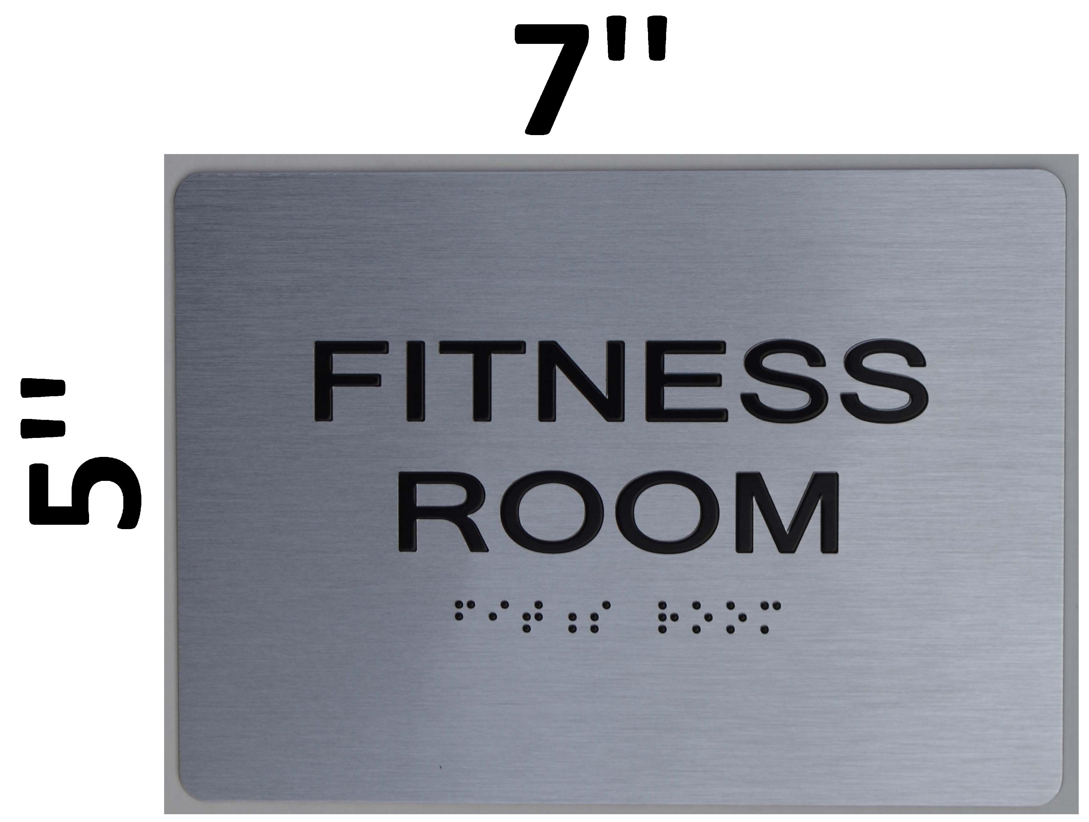Fitness room sign ada the sensation line hpd