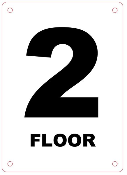 Nyc Fire Department Sign Floor Number Sign Hpd Signs
