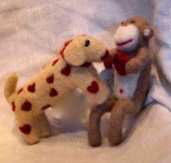 Romantic Felted Animals