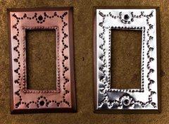 Tin Rocker Wall Plate