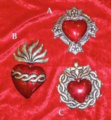 Medium Oaxaca Tin Hearts