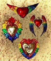 Tin Pride Hearts