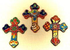 Talavera Crosses - Gothic Style Medium