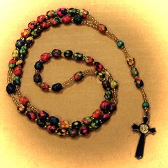 Palm Frond Rosary