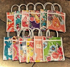 Oil Cloth Totes - small