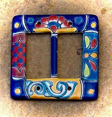 Talavera Double Rocker Wall Plate