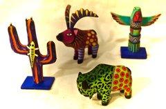 Oaxaca Animal Carvings - medium