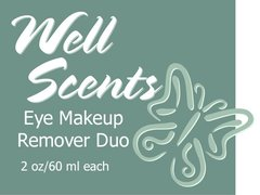 Well Scents Eye Makeup Remover Duo