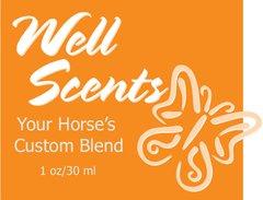 Well Scents Custom Blend for Horses