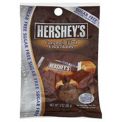 Chocolates rellenos de caramelos, sin azúcar, 85 grs