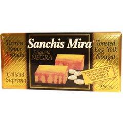 Turrón de yema tostada por Sanchis Mira. (198.45 Grs). Importado de España. (Disponible solo en Diciembre)