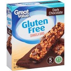 Barras de granola y chocolate, gluten free 5 Barras 28.5 grs