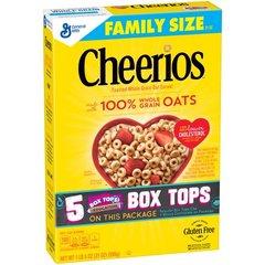 Cereal Cheerios, Caja de 595.35 Grs (Ayuda con Colesterol)