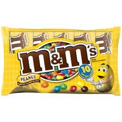 M&M's de Mani, Bolsa de 10 bolsitas individuales.