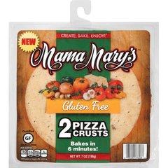 Sin Gluten pan para pizza, 2 unidades de 7 oz (198 grs)