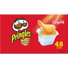 Pringles Original Potato Chips, Caja de 48 estuches. (960 grs total)