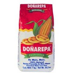 Harina Doñarepa paquete 1 kg. Seleccione Color.