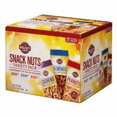 Paquetes de aperitivos surtidos de frutos secos, 27 Und/1.4 oz. (Disponible solo en Diciembre)