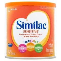 Similac Sentive, Alimento completo para Bebes hasta 1 año