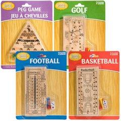 Classic Games - Juegos con fichas de madera para viajes